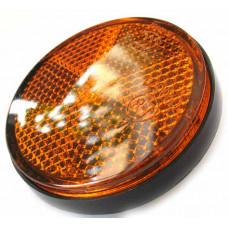 Световозвращатель боковой (оранж), пластик круглый
